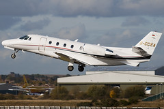 D-CCEA - 560-5593 - Windrose Air - Cessna 560XL Citation XLS - Luton - 091023 - Steven Gray - IMG_2907