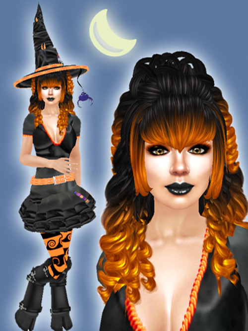 Teagan Blackthorne - Halloween Picture for Achariya