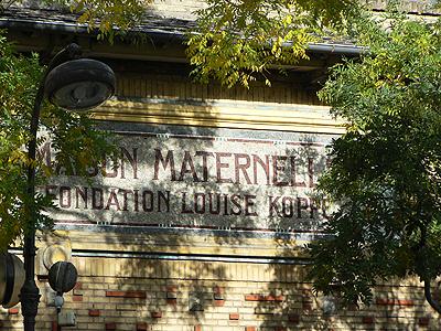 maison maternelle Alésia