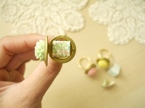 bridesmaid rings: 3