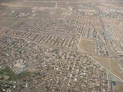 Albuquerque outskirt (lamanyana) Tags: albuquerque arial