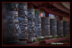 RUEDAS DE ORACION (DIAZ-GALIANO) Tags: espaa canon buda templo catalua 30d budismo diazgaliano