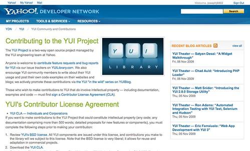 YUI Contributor Page