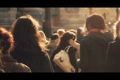 [A Matter of] Light (- Loomax -) Tags: street people sunshine backlight lights book cinematic 169 warmcolors amatterof