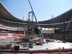 Quinto día de montaje - Estadio Azteca 35