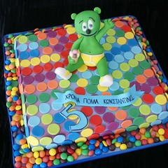 parizaki (*liis*) Tags: bear green fun colours bright dots gummybear dico discobear parizaki wwwtourtescom