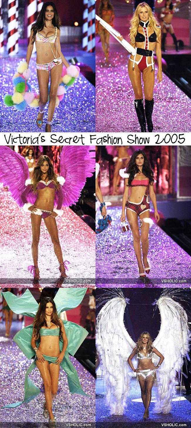Victoria's Secret Fashion Show 2005, Fashion collage