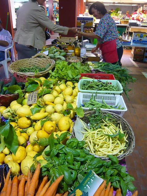Ventimiglia market farmer stand