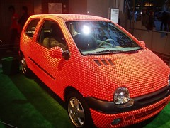 Twingo (cheetah.matt) Tags: rose voiture fraisetagada