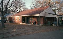 Front Porch (Sean Davis) Tags: highpointterrace memphis frontporch man film winter