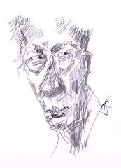 People Sketches 13 (jimblodget) Tags: sketch portrait faces pencil people