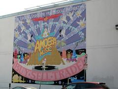 Amoeba Music Mural