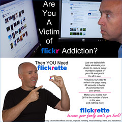 175/365 - Are You A Victim of Flickr Addiction? (HughesOnTheNet) Tags: selfportrait me brian 2009 flickrette flickraddiction trp 365days canoneos450d canonefs1855mmf3556is canoneosdigitalrebelxsi fauxadvertising
