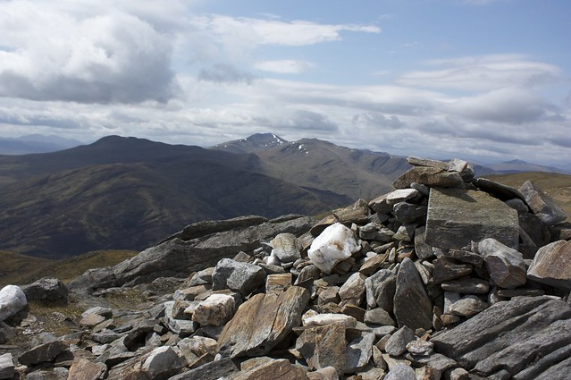 Ben Lawers from Meall na Aighean
