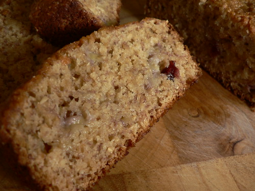 Banana & Cranberries Bread