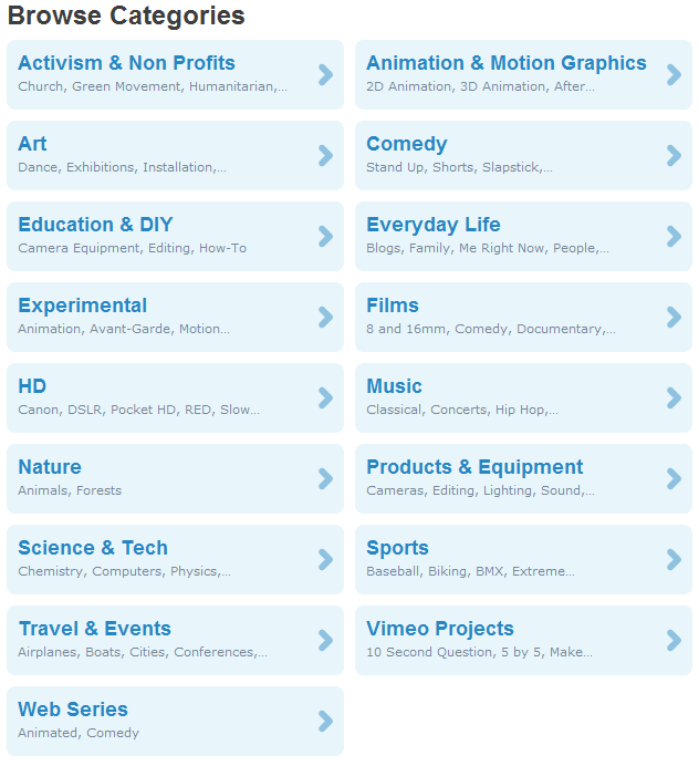 vimeo_categories