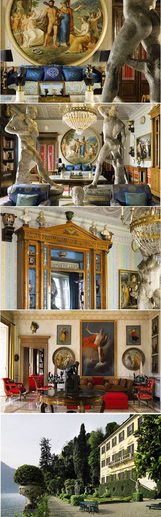 Donatella Versace's house - Fashion and style at it's best