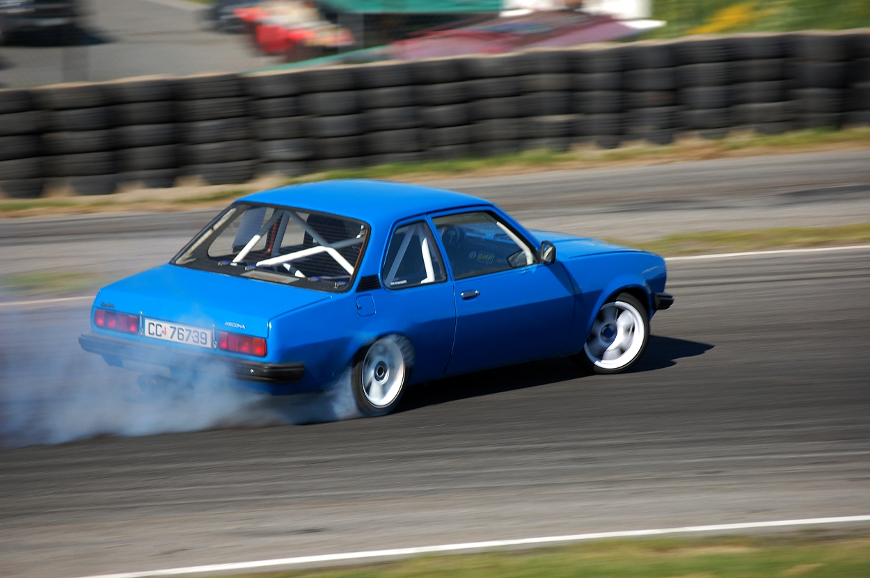 Opel Ascona B drift. go back