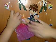 Ben 10 marries Barbie