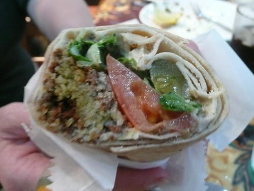 La Crave Falafel Sandwich