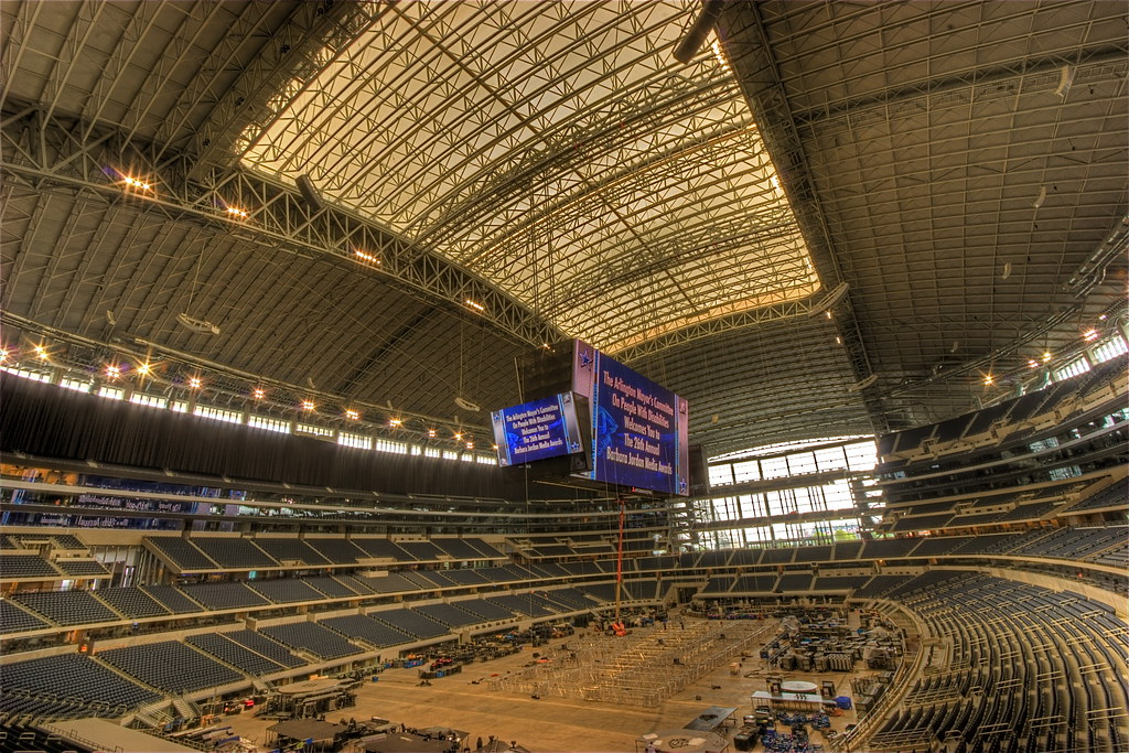 New Cowboy Stadium with Jumbo Screen