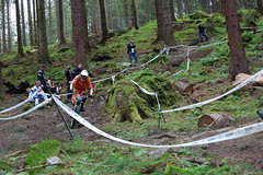 Vibe - Dunkeld 2009 (42) (stuntmansteve) Tags: downhill dunkeld sda viberacing