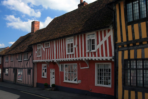 Lavenham Timber Framed Houses - flckr - artorusrex