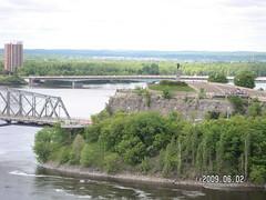 PICT0015 (gmcgregor) Tags: ottawariver ottawacanada champlainpoint oldalexandriaandnewermacdonaldcartierbridges