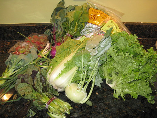 What's in CSA box #4