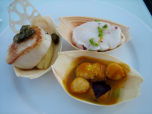 Scallop 3 ways