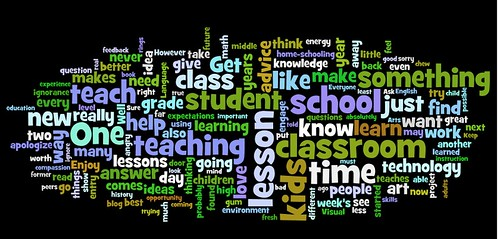 Teacher Advice Wordle by http://www.wordle.net/