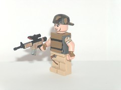 pmc (private military contractor) (kenneth nielsen a.k.a Qenhyt) Tags: private mod paint lego military gamer workshop ba contractor pmc brickarms