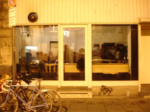 DEO Raum in der Weserstrasse. Juli 2005