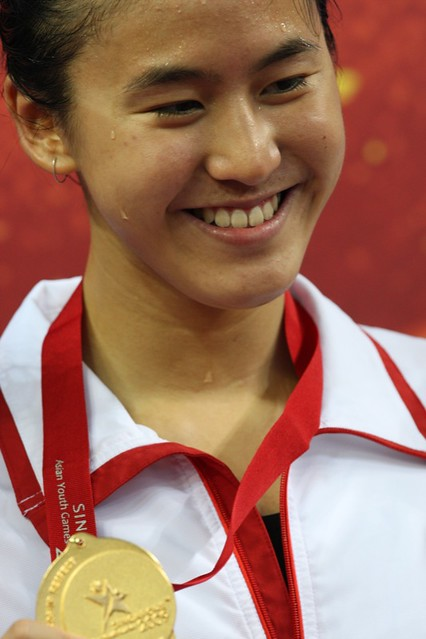 Quah Ting Wen Wins AYG Girls 100 Finals | Flickr - Photo Sharing!