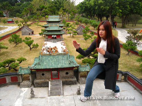 nicolekiss and shaolin temple
