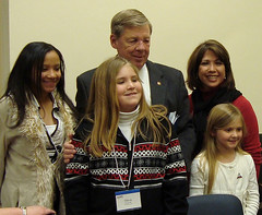 Aimee B. with Sen. Isakson