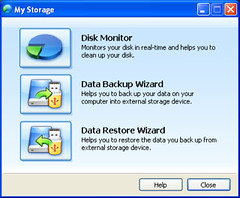 MyStorage applicatie (foto door: PiAir (Old Skool))