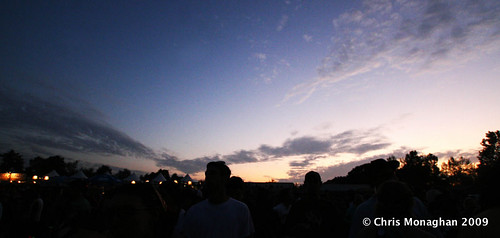 Sunset @ Rothbury 2009