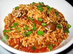 Vegan Jambalaya (aloveletteraway ) Tags: food restaurant berkeley vegan vegetarian cajun creol shattuck jambalaya angelines