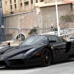 Black devil car