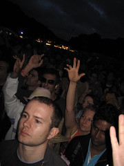 Lovebox Weekender (russelljsmith) Tags: uk friends england music london up festival fun concert hands victoriapark europe outdoor gig drinks drunks fans venue somber 2009 ballad lovebox loveboxweekender 77285mm loveboxweekender2009 lovebox2009 lastfm:event=861454