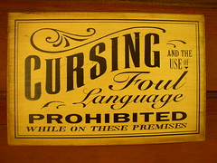 Cursing Prohibited (Cowtools) Tags: museum maryland jugbay patuxentriverpark september12009 rurallifemuseums