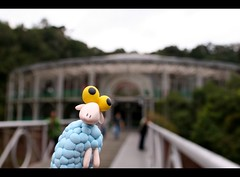 Sheep went to Opera de Arame (Honey Pie!) Tags: brazil brasil toy brinquedo sheep curitiba ameliepoulain toyland poulain blackborder ovelha peradearame operadearame amliepoulain bordapreta sheepinthebigcity sheepnacidadegrande