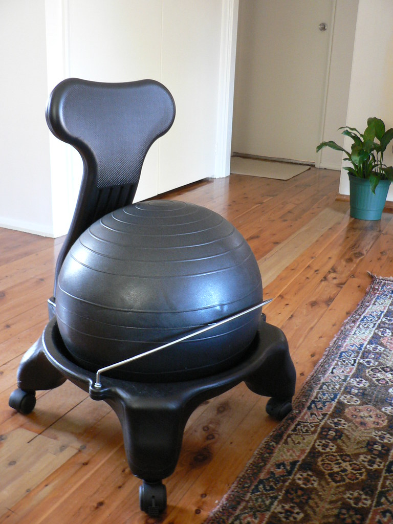 Fitness Ball Chair