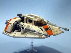 snowspeeder (psiaki) Tags: starwars back lego empire strikes hoth moc snowspeeder t47 foitsop airspeeder