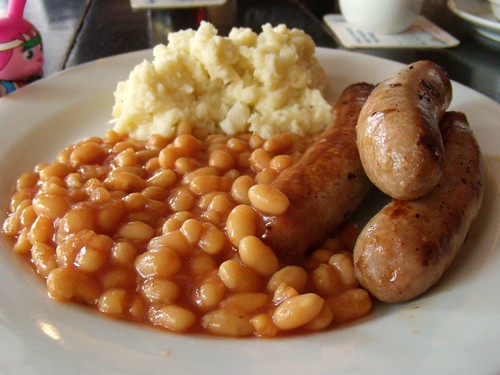 bangers and mash by chiselstone.