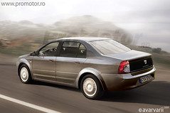 Dacia Sedan Lateral