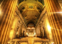 The Pillars of God (Stuck in Customs) Tags: hdr high dynamic range photography stuck customs stuckincustoms trey ratcliff nikon d2xs november 2007 color indoor religious church cathedral world travel western europe france paris pillars god basilique du sacrcur sacr cur basilica sacre coeur sacred herat roman catholic butte hill motmarte seine ledefrance le ile rgion parisienne gold altar ornate top100 architecture religion worship photograph marble stone