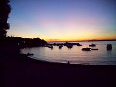 101_1269 (Marcello Terruli) Tags: sunset sea tramonto mare sole croazia solitudine