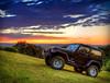 Joshes car 2 (dazza17 - DJ) Tags: sunset car reflections subject hdr daryljames daryljamesphotograph